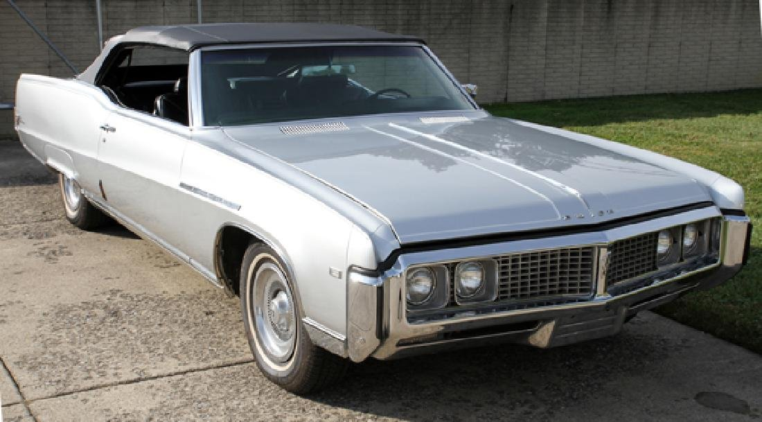 BUICK ELECTRA 225 2-DOOR CONVERTIBLE 1969 - 10