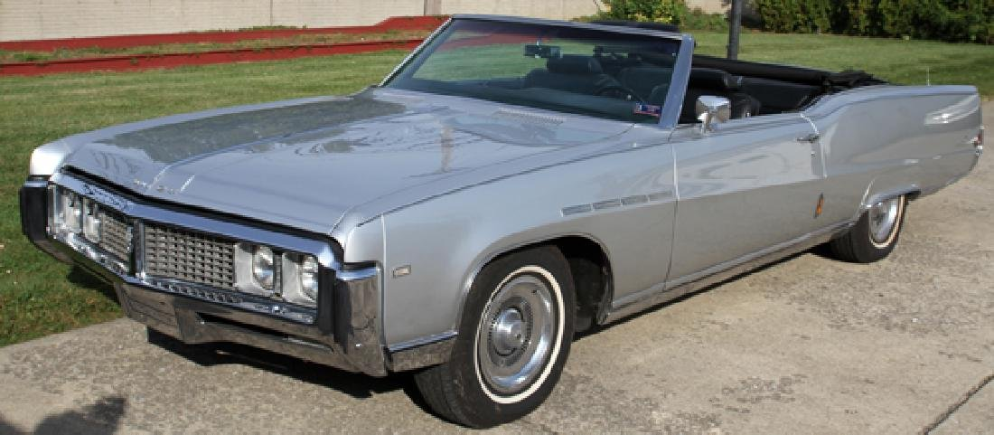 BUICK ELECTRA 225 2-DOOR CONVERTIBLE 1969 - 2