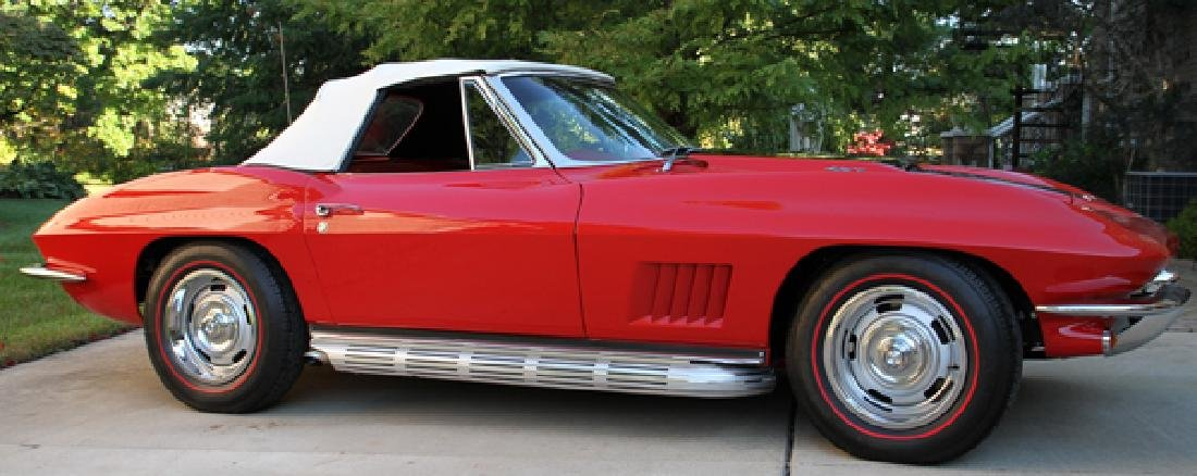 CORVETTE STINGRAY 427 CI 4-SPEED CONVERTIBLE 1967