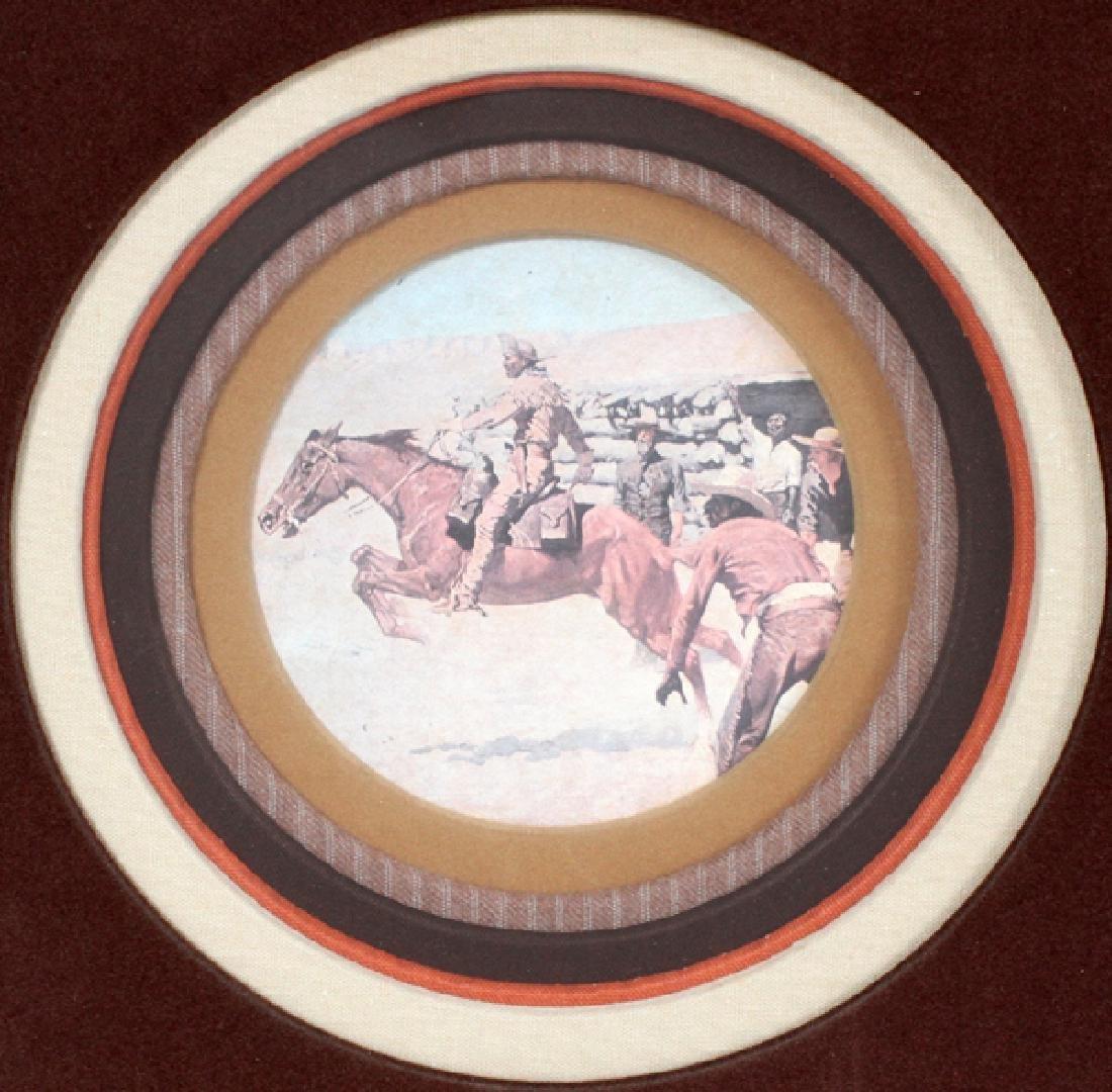 FREDERIC REMINGTON DRAWINGS & SIGNATURE 1887 - 8