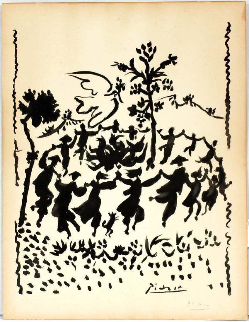 PABLO PICASSO LITHOGRAPH 1954
