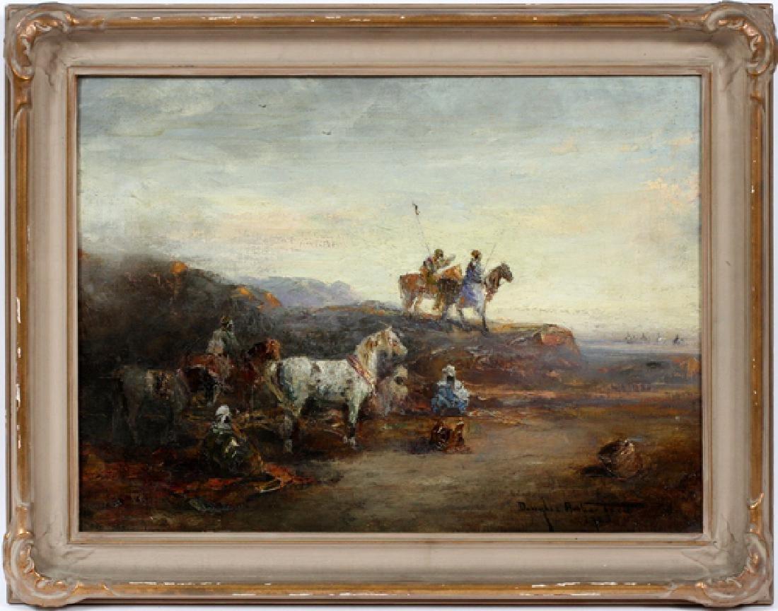 DOUGLAS ARTHUR TEED OIL ON CANVAS 1925
