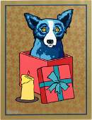 GEORGE RODRIGUE SILKSCREEN