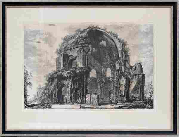 AFTER PIRANESI POSTHUMOUS ETCHING