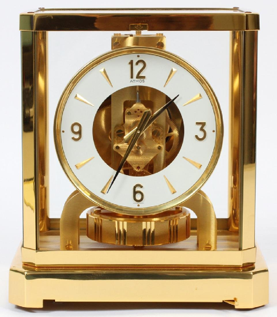 JAEGER-LE COULTRE PERPETUAL MOTION ATMOS CLOCK