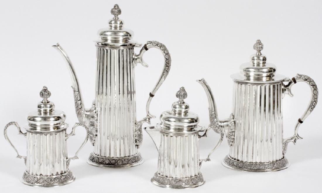 TANE ORFEBRES MEXICAN STERLING TEA & COFFEE SET