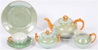 BAVARIAN PORCELAIN TEA SET 26 PIECES