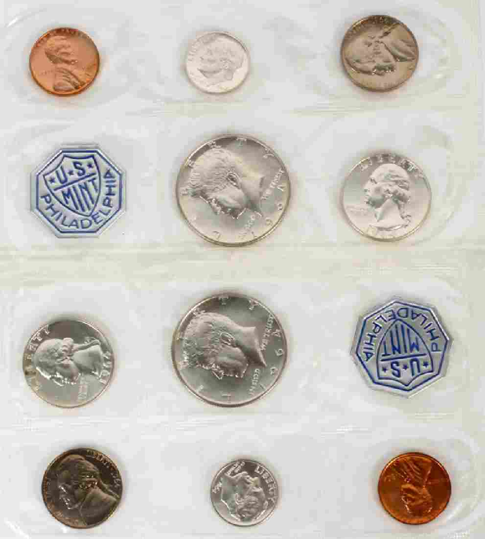 1964 STERLING COIN PROOF SETS TWO