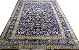 KASHAN PERSIAN OVER ALL FLORAL DESIGN ORIENTAL RUG