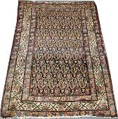 122327 HAMADAN PERSIAN ORIENTAL WOOL RUG 411x35