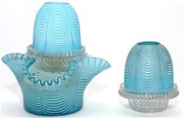 VICTORIAN NAILSEA FAIRY LAMPS