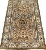 FINE PERSIAN PURE SILK CARPET