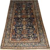 VERY FINE PERSIAN WOOL AND SILK CARPET 2010