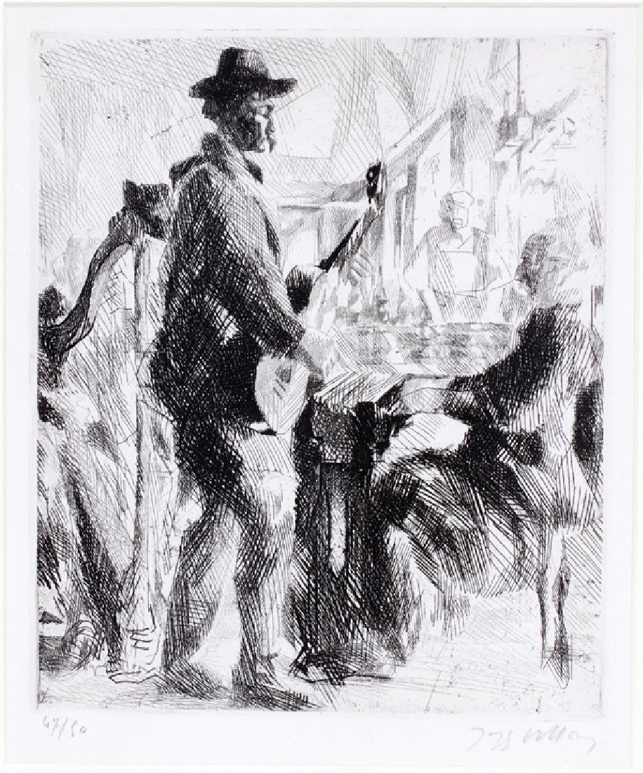 JACQUES VILLON ETCHING 1912