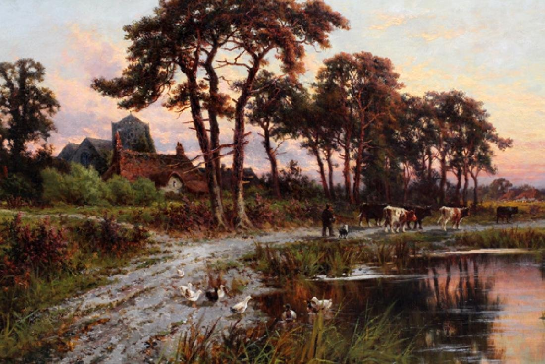 HENRY H. PARKER OIL ON CANVAS 1895 - 2