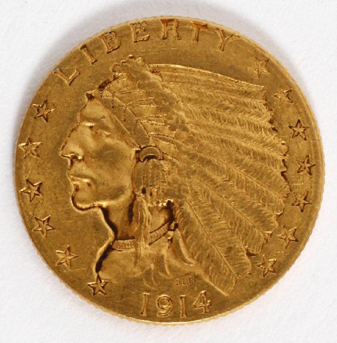 U.S. INDIAN CHIEF 'WALKING-EAGLE' UNCIRCULATED COIN