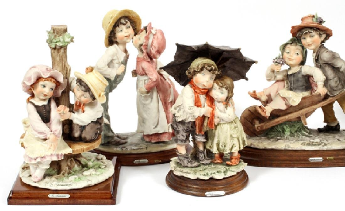 GIUSEPPE ARMANI CAPODIMONTE CHILDREN FIGURES - 2