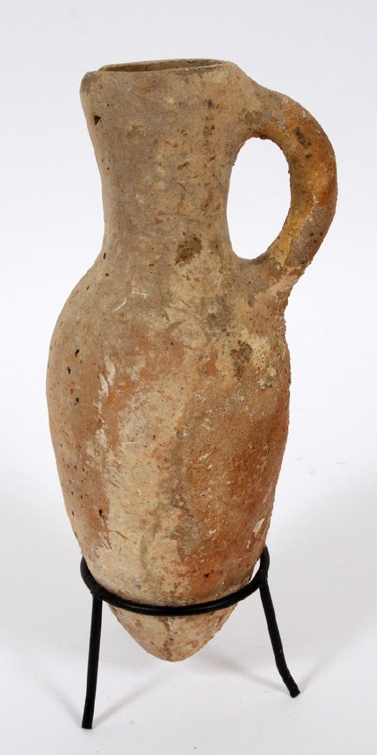 ISRAELITE LATE TO MIDDLE BRONZE AGE POTTERY VESSELS - 12