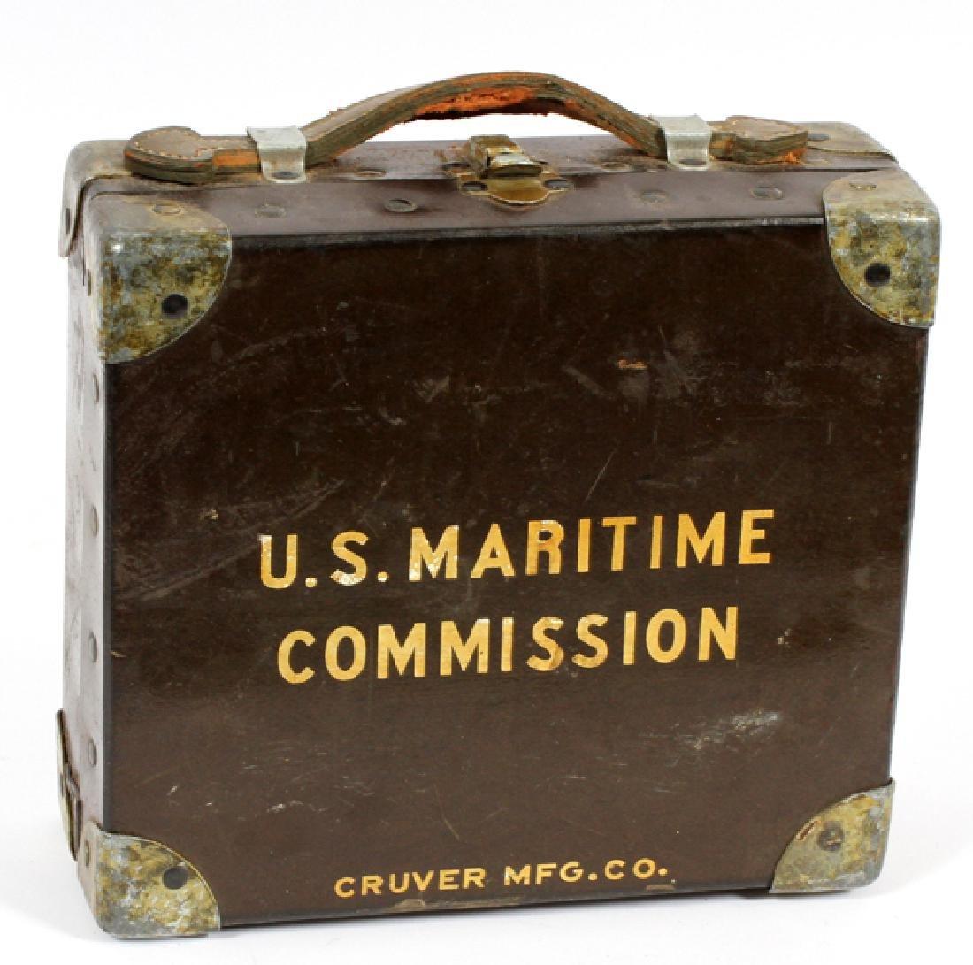 U.S. MARITIME COMMISSION LIFEBOAT SEXTANT - 2