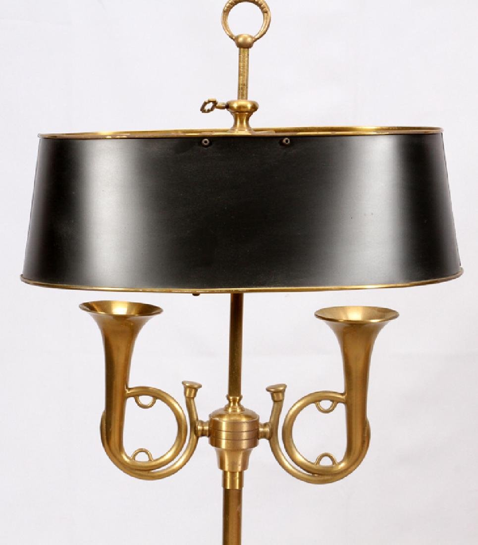 GILT BRASS FLOOR LAMP LATE 20TH C - 2