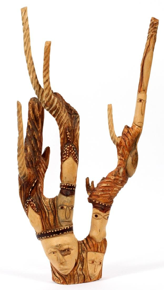 HAITIAN CARVED BRANCH