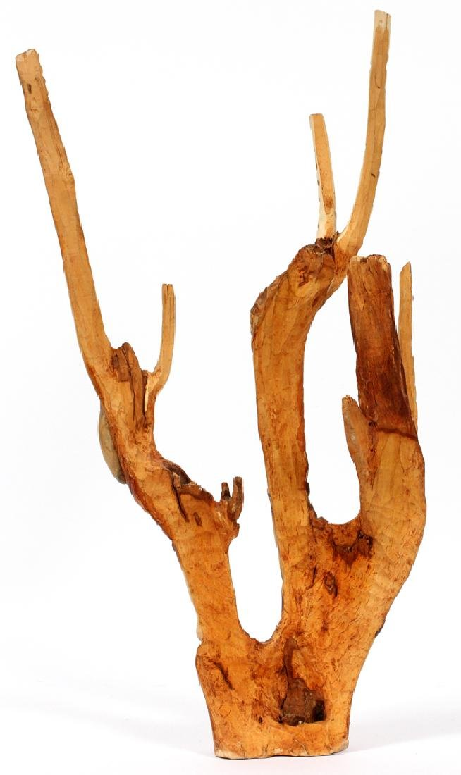 HAITIAN CARVED BRANCH - 2