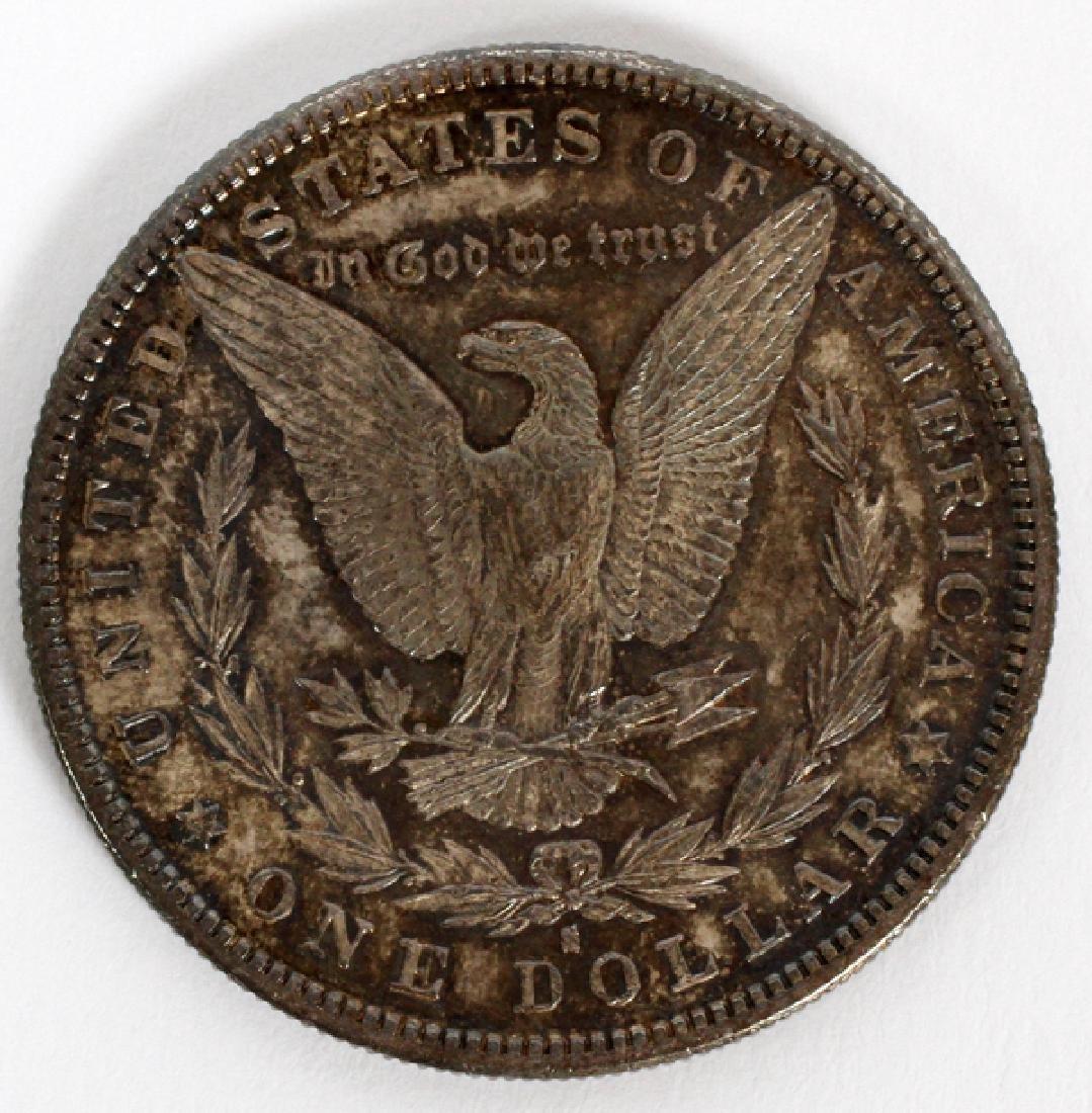 U.S $1 LIBERTY-HEAD MORGAN COIN 86 TR. OZ. 1881-S - 2