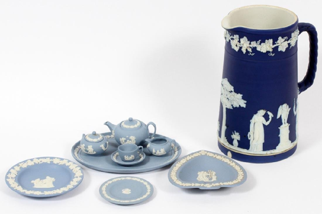 WEDGWOOD JASPERWARE ARTICLES 9 PCS.