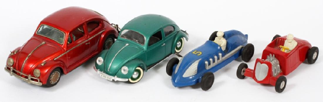 SAUNDERS SOLIDO FRENCH & JAPANESE TIN &PLASTIC CARS