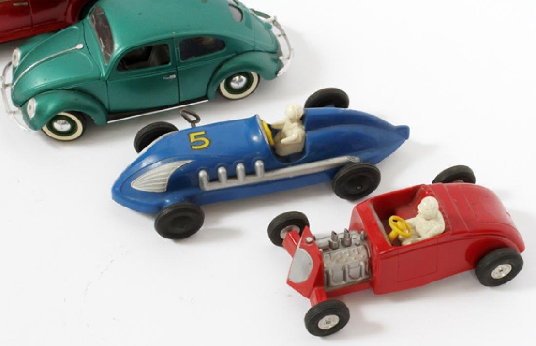 SAUNDERS SOLIDO FRENCH & JAPANESE TIN &PLASTIC CARS - 2