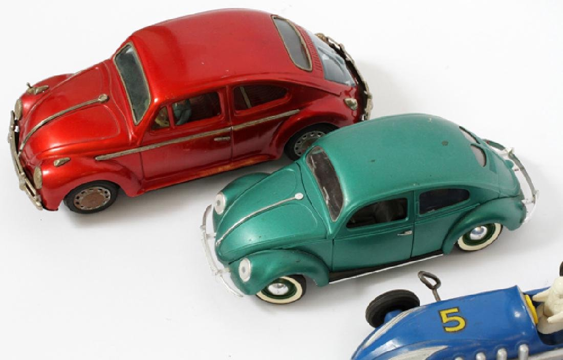 SAUNDERS SOLIDO FRENCH & JAPANESE TIN &PLASTIC CARS - 3