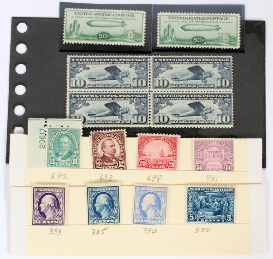 U.S. STAMP COLLECTION EARLY ISSUES