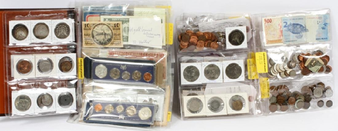 PAPER CURRENCY & U.S COINS MORGAN