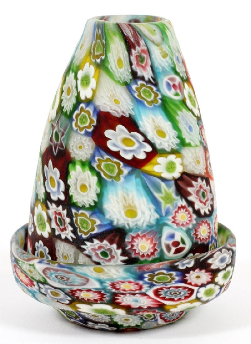 MILLEFIORI GLASS FAIRY LAMP
