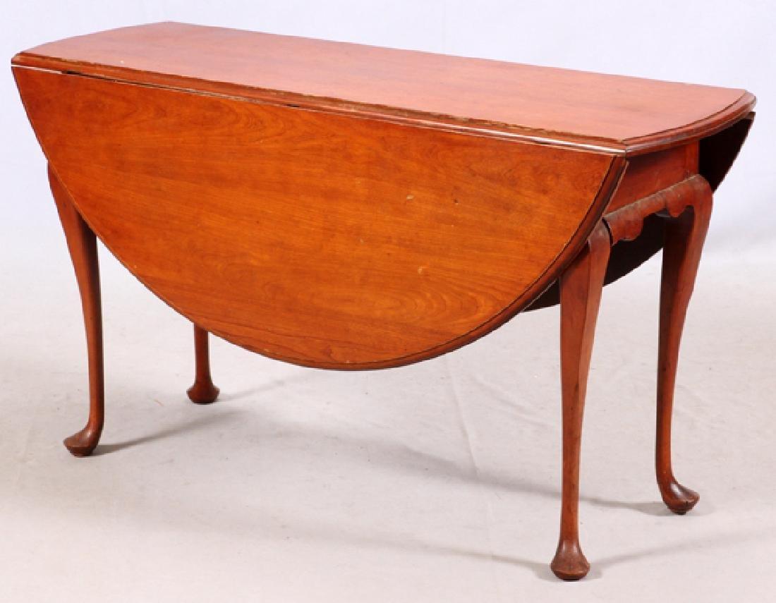 QUEEN ANNE CHERRY ANTIQUE BREAKFAST TABLE
