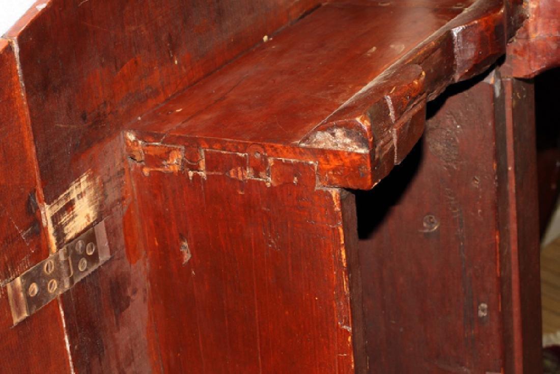 QUEEN ANNE CHERRY ANTIQUE BREAKFAST TABLE - 5