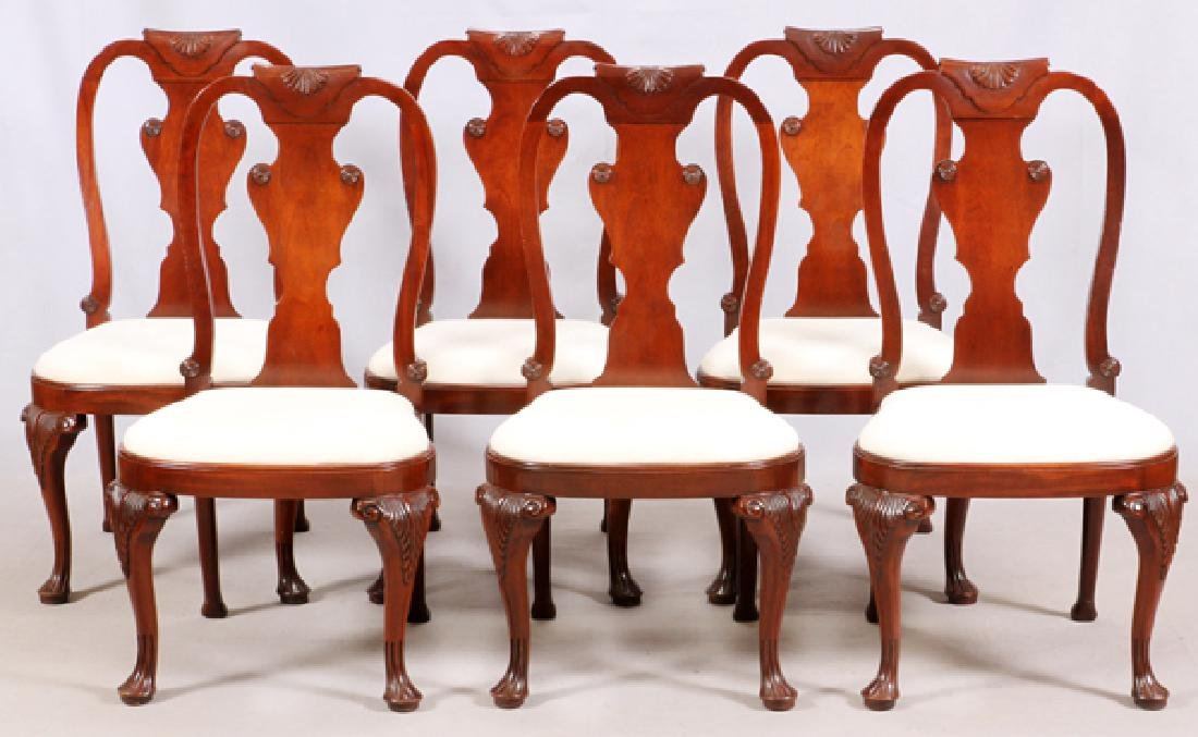 BAKER 'HISTORICAL CHARLESTON' UPHOLSTERED CHAIRS 6