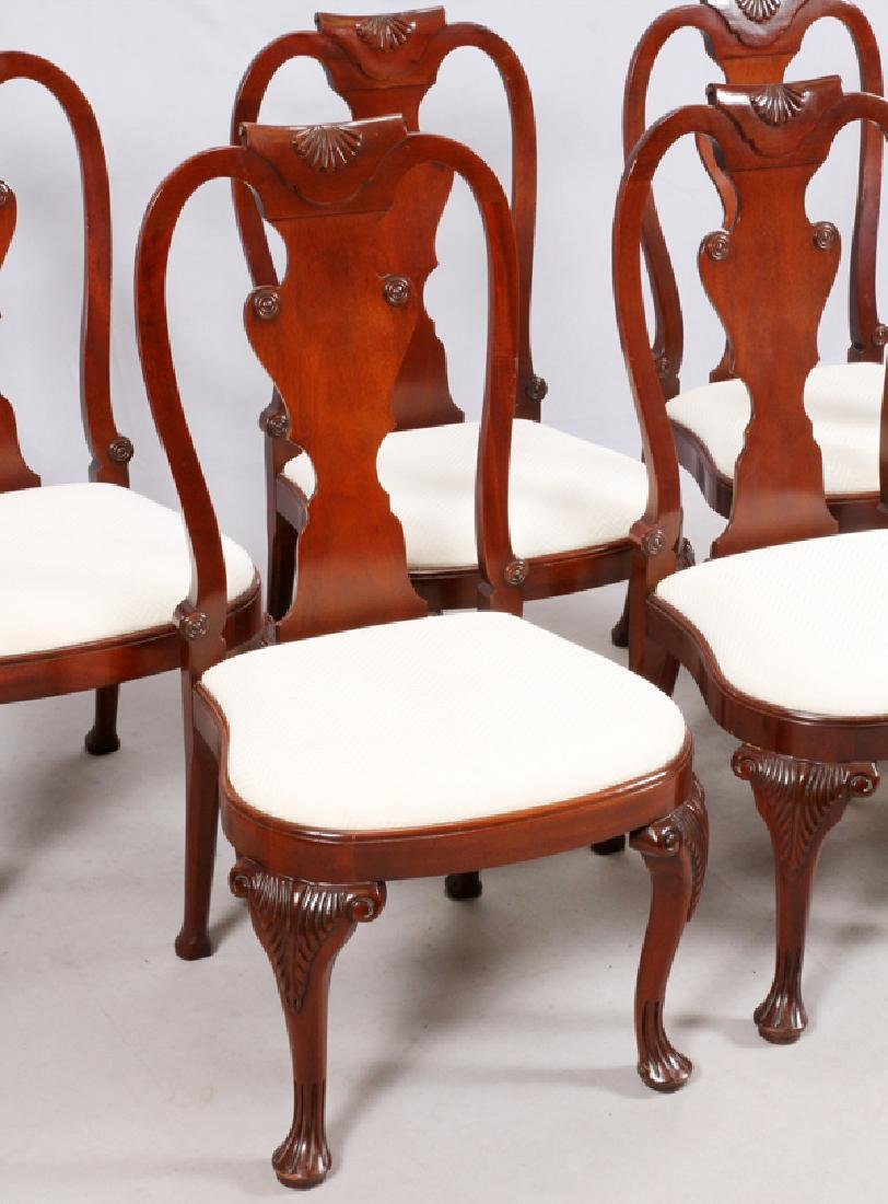 BAKER 'HISTORICAL CHARLESTON' UPHOLSTERED CHAIRS 6 - 2