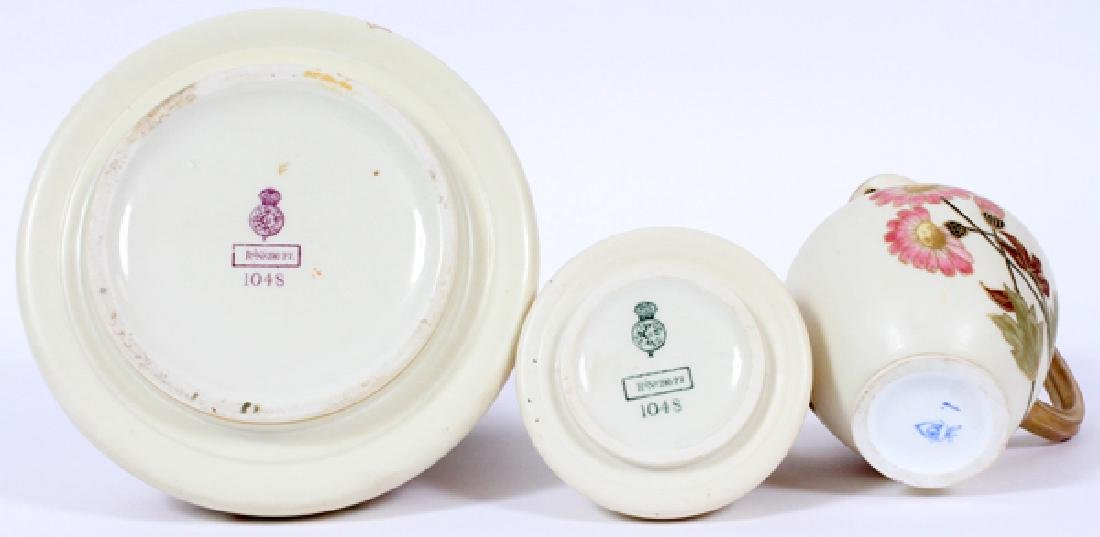 ROYAL WORCESTER BISQUE PITCHERS THREE - 3