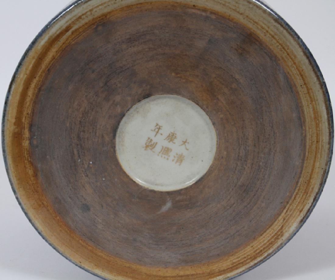 CHINESE PORCELAIN CYLINDER JAR - 3