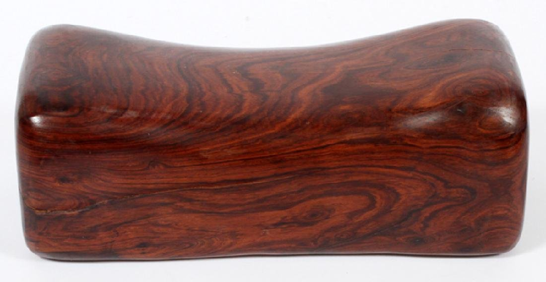 CHINESE ROSEWOOD PILLOW - 2