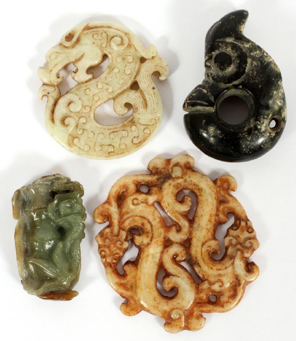 ARCHAIC JADE COLLECTION FOUR PIECES