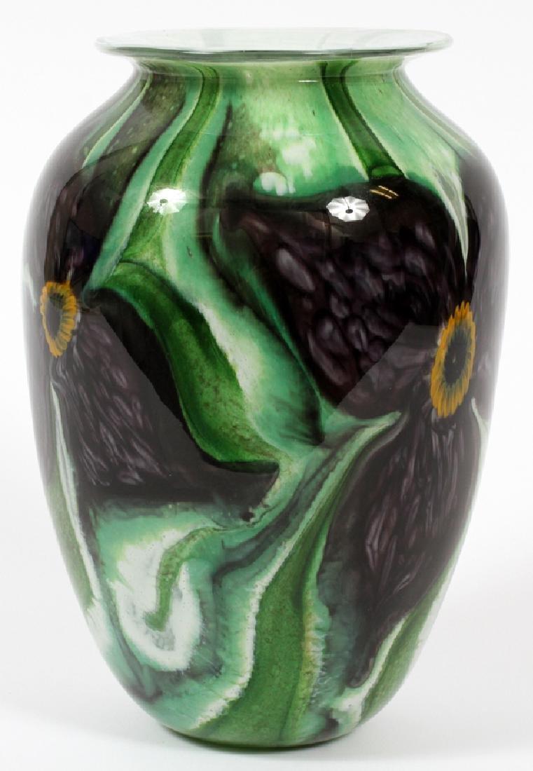 ROBERT ERICKHOLT GLASS VASE - 2