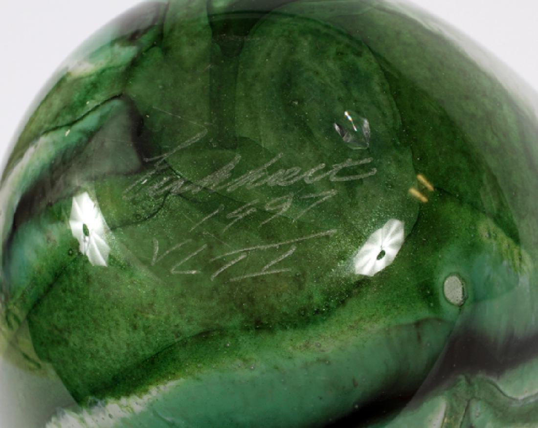 ROBERT ERICKHOLT GLASS VASE - 3