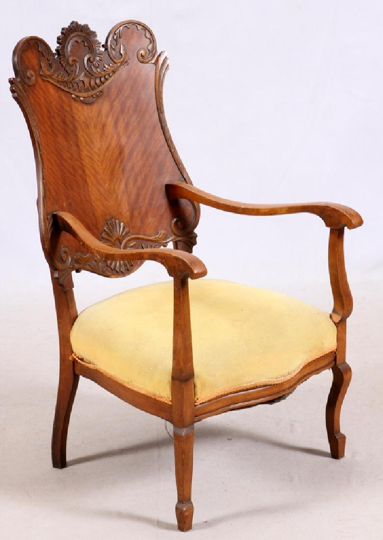 AMERICAN COLONIAL REVIVAL ARM CHAIR EARLY 20TH C. - 2