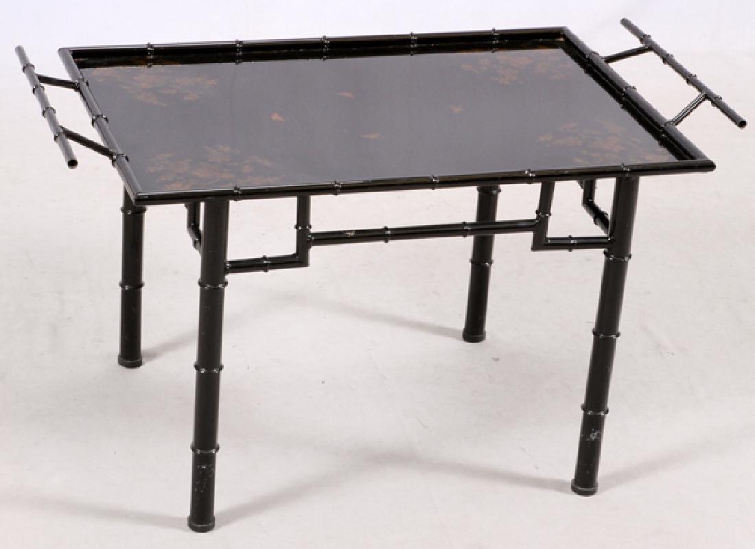ITALIAN MODERN BLACK COCKTAIL TABLE