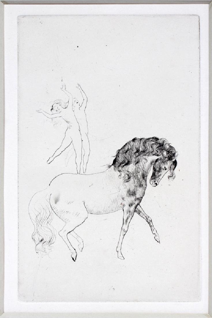 PABLO PICASSO DRYPOINT ETCHING