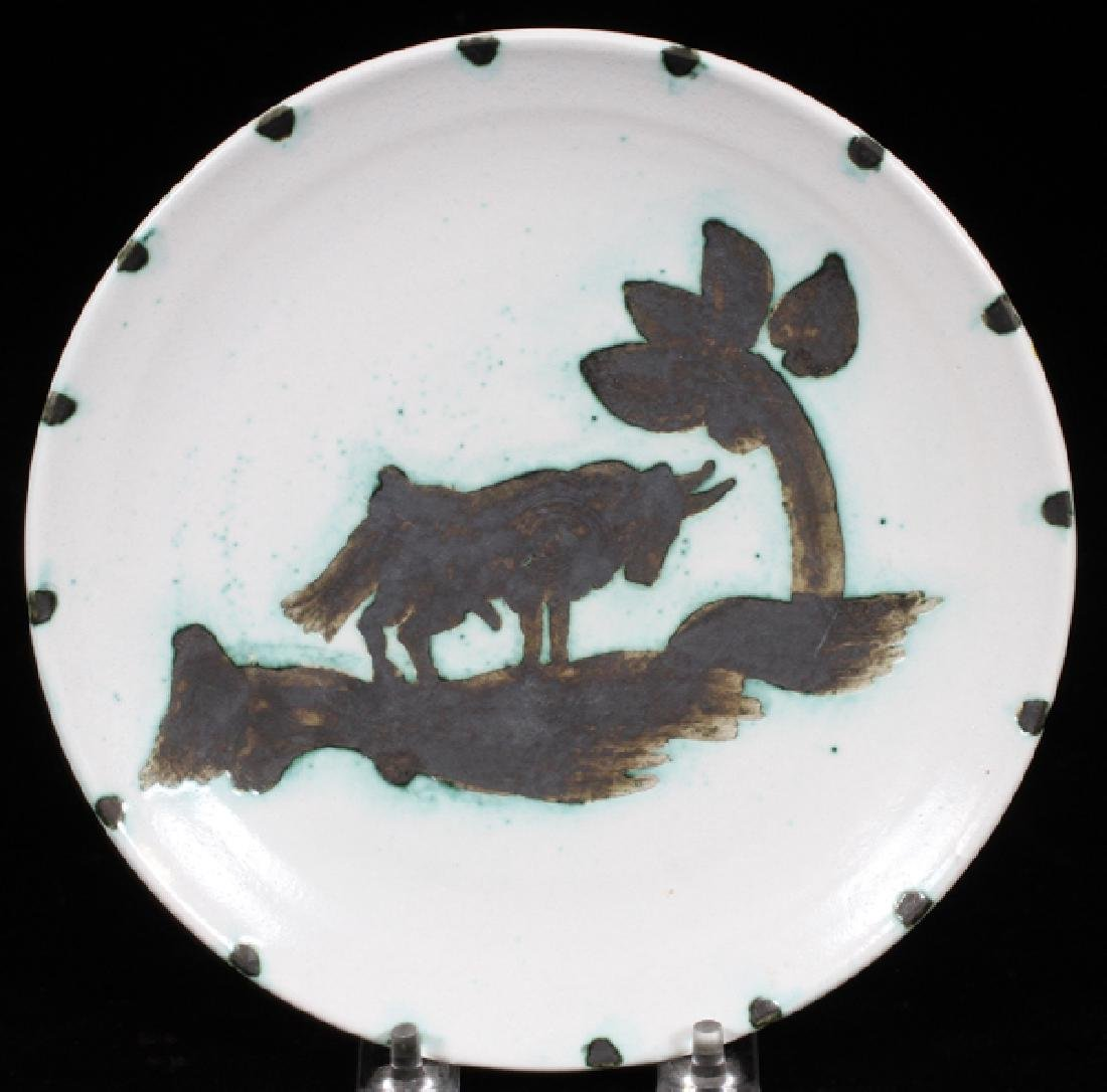 PABLO PICASSO POTTERY PLATE