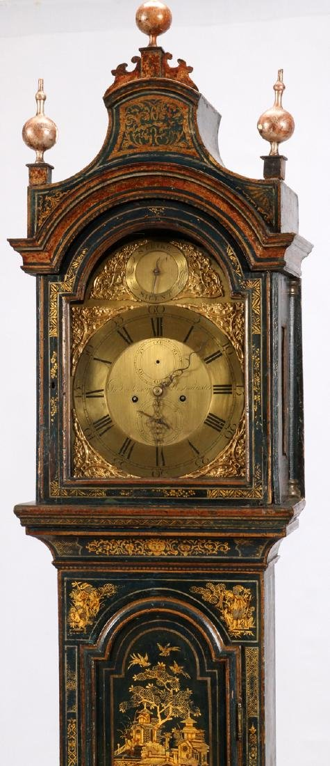 CHINOISERIE GRANDFATHER CLOCK - 2