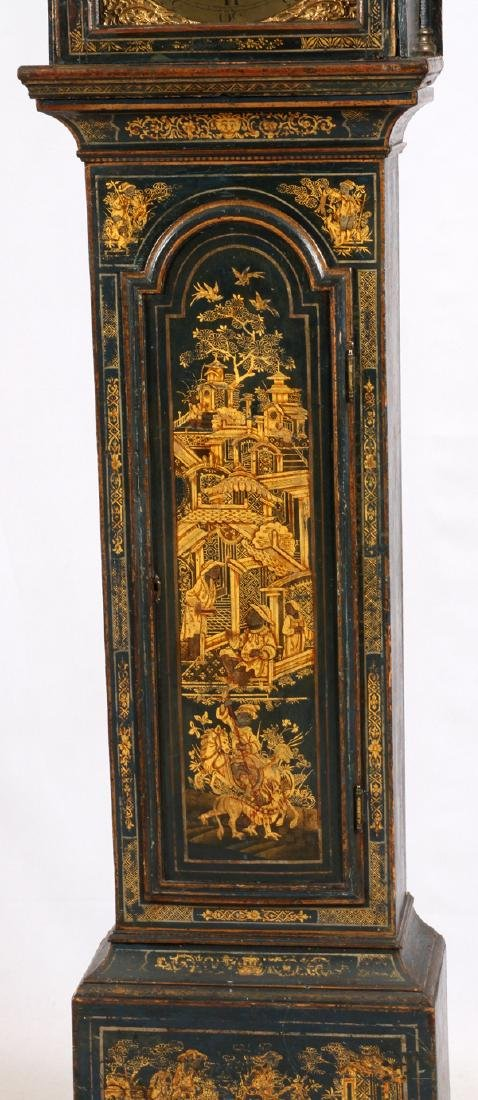 CHINOISERIE GRANDFATHER CLOCK - 3